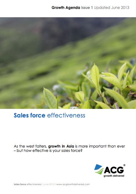 Salesforce Effectiveness