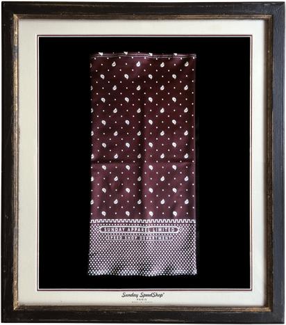 -Bandana- シルクタッチスカーフ SundaySpeed フランス製