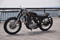 小平市 塗装 バイク