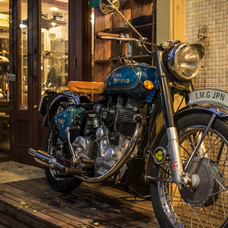 RoyalEnfield Classic Leather Custom