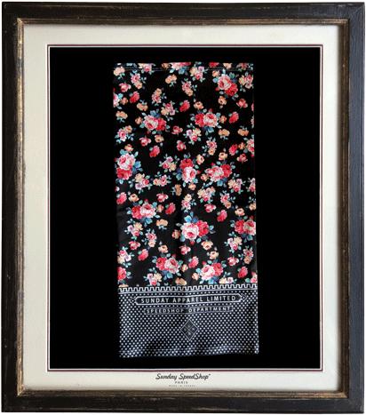 -Roses- シルクタッチスカーフ SundaySpeed フランス製