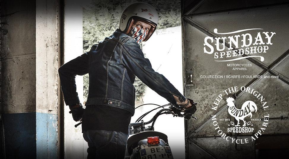 バイク スカーフ SundaySpeedShop