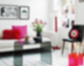 white modern-pink-apartment-interior-dec