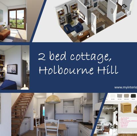 2 bed cottage, Holbourne Hill