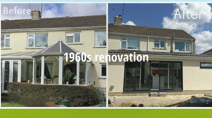1960s renovation