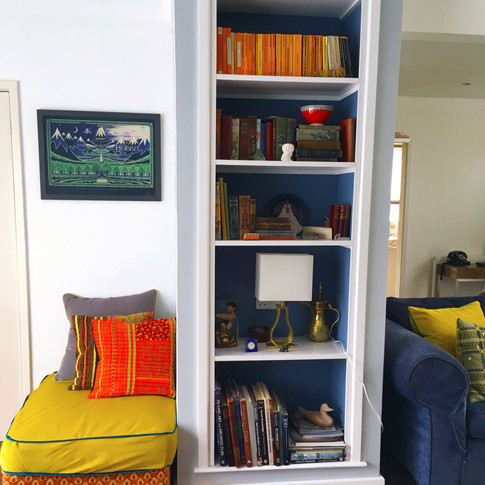 My bookcase feature