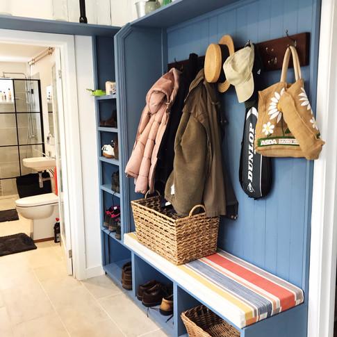 New cloakroom area