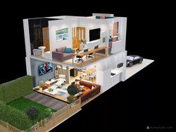 whole house 3d view