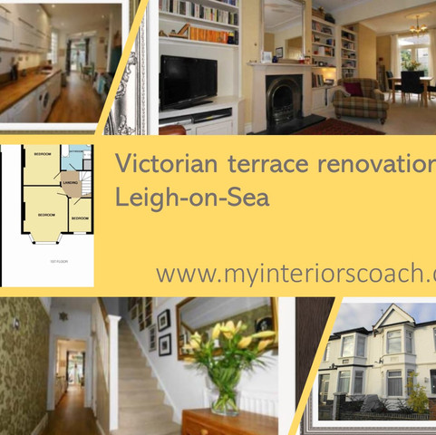 Victorian terrace renovation, Leigh-on-S