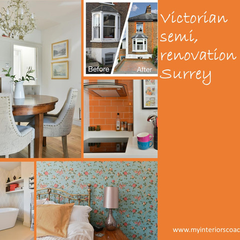 Victorian semi, renovation, Surrey