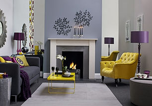 complimentary grey-yellow-purple-living-
