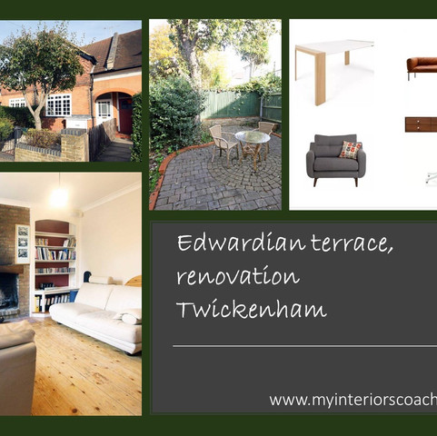 Edwardian terrace, renovation, Twickenha