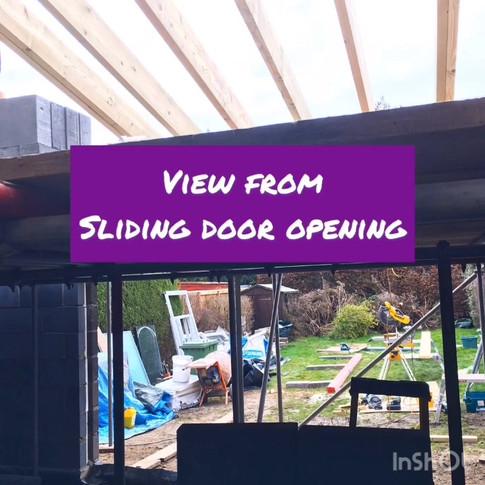 Steel for the sliding doors