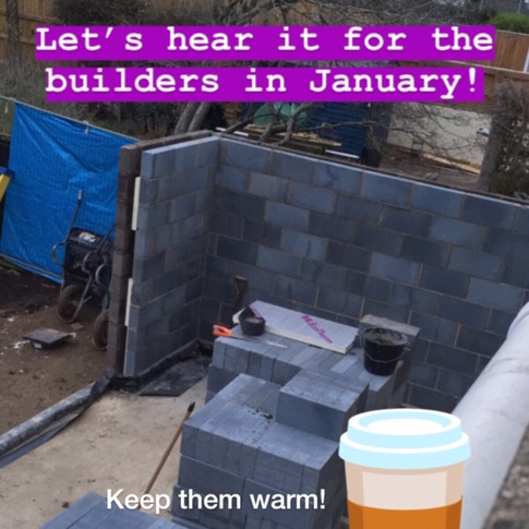 Keeping builders topped up!