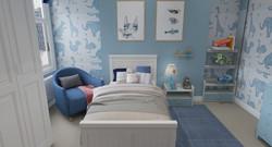 Tub chair and carpet