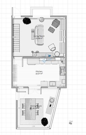 Lucy's floorplan