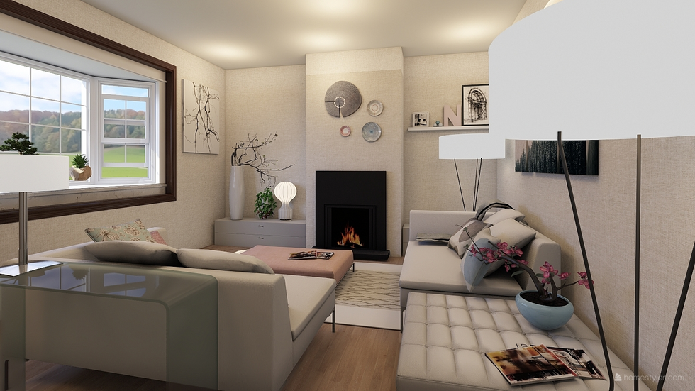 Soft minimalist decor