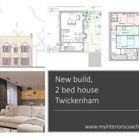 New build, 2 bed house, Twickenham