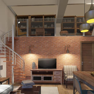 Loft apartment, Old Brewery