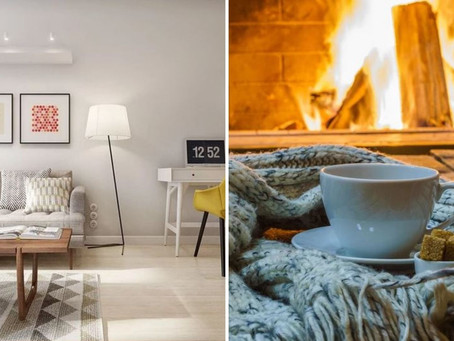 Contemporary or cosy?