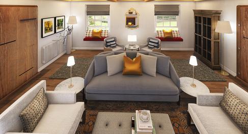 Alternative neutral gray and beige scheme