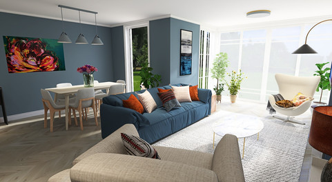 Scandi mix with Moroccan accents
