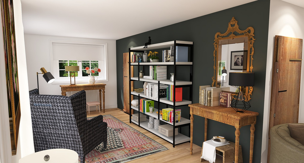 black chair and bookcase.jpeg