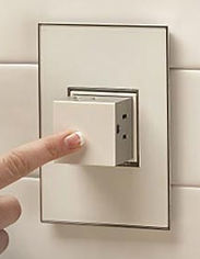 Ease of use outlet