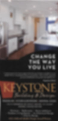 Keystone Building and Design, Change the way you live. 1