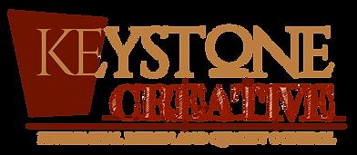 13. Keystone Logo For Dark BG Font Even