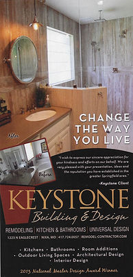 Keystone Building and Design, Change the way you live. 2