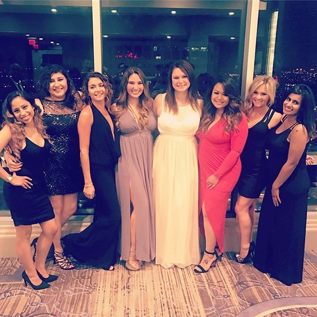 The ladies looked pretty fabulous at the Millionaires Masquerade Ball!_._._._.__edited
