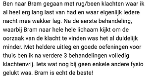 Behandeling rugklachten Amsterdam