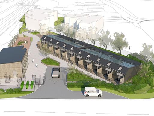 Work to being on modular housing scheme in Carn Brea
