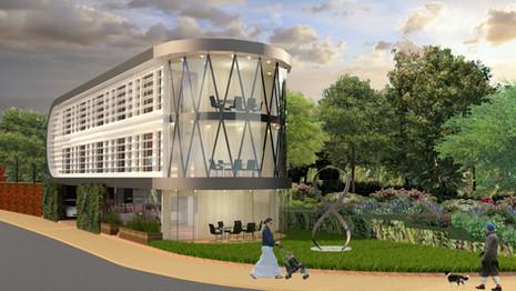 ZED PODS Office, Crawley