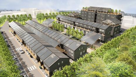 Mix-density Urban Scheme