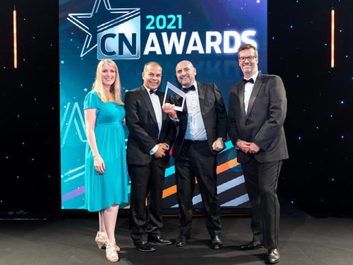 Winner of prestigious Construction News Award