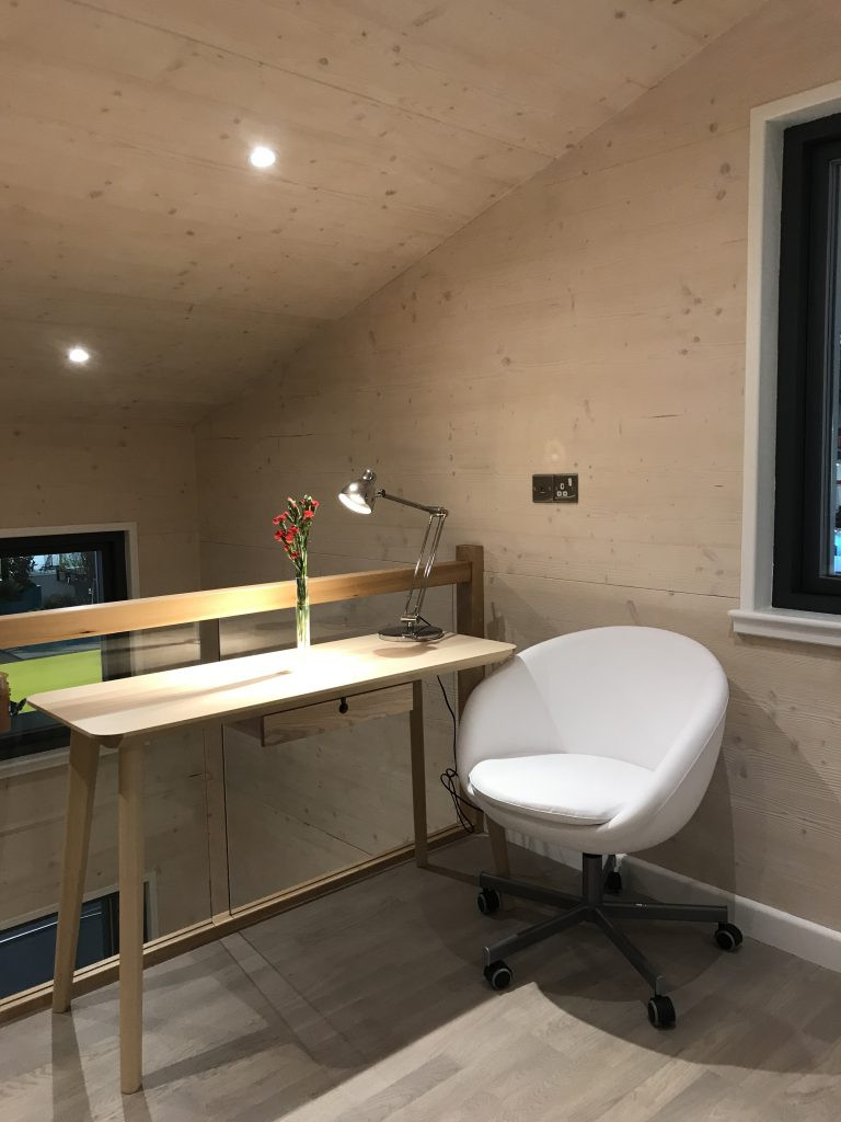 Study area within a ZEDpod home