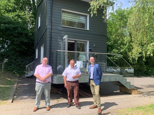 Modular Show Home Goes on Display in Mid Devon