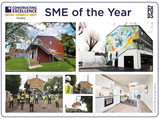 SME of the Year — Constructing Excellence SECBE Awards 2021