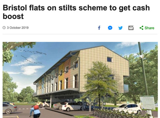 Bristol flats on stilts scheme to get cash boost