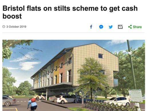 Bristol flats on stilts scheme to get cash boost