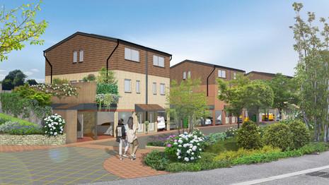Low-carbon Maisonettes Dwellings, Grays