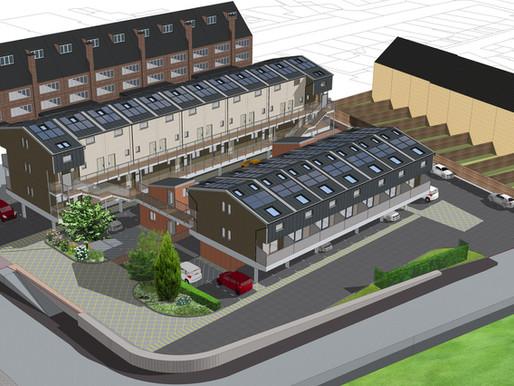 Construction work underway for much needed homes for Bromley Council