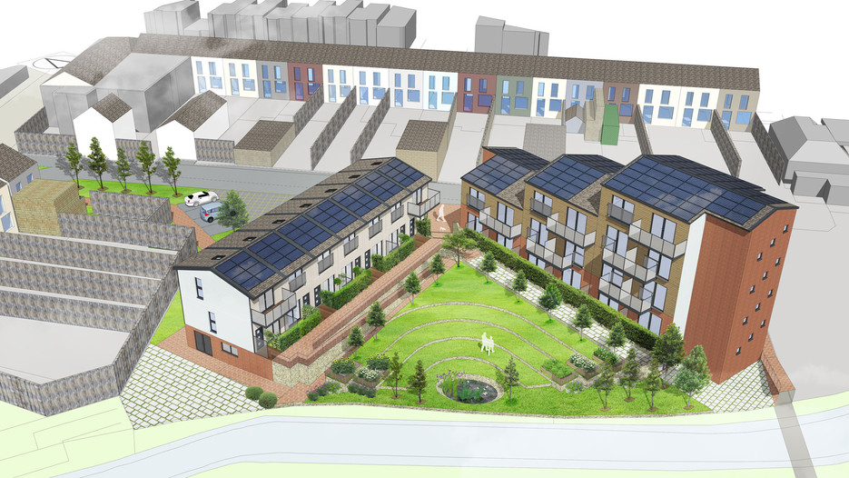 Mixed-use Development with commerical space, Wales