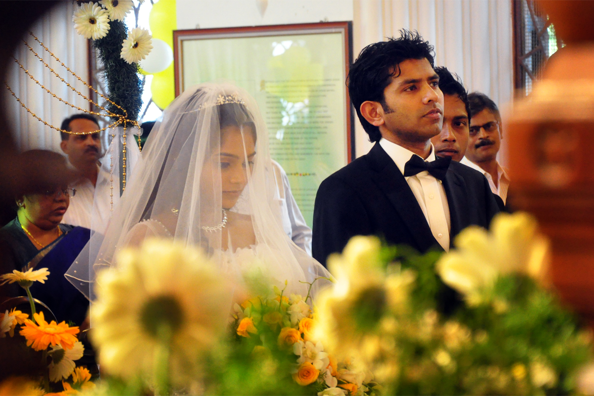 chennai christian wedding photograph