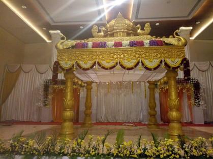 chennai wedding stage decoration
