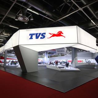 Auto Expo 2018 TVS MOTOR Pavilion