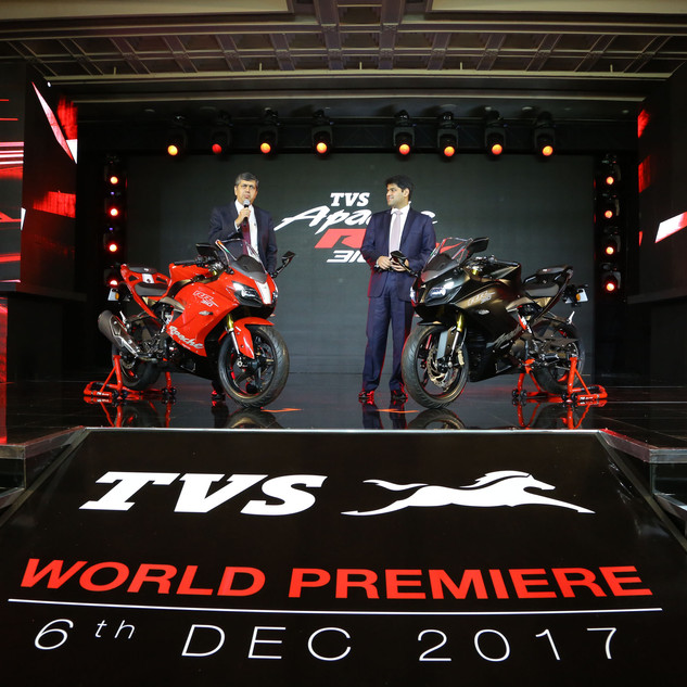 TVS Apache Launch