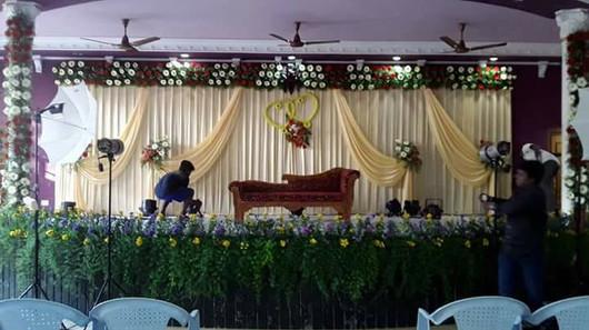 chennai reception decors